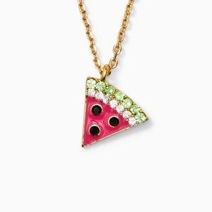 Kate Spade picnic watermelon mini pendant
